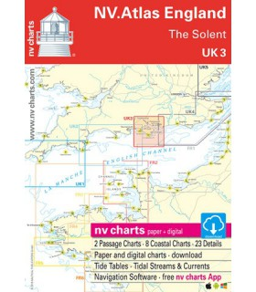 Nv Charts England - The Solent - Carte marine