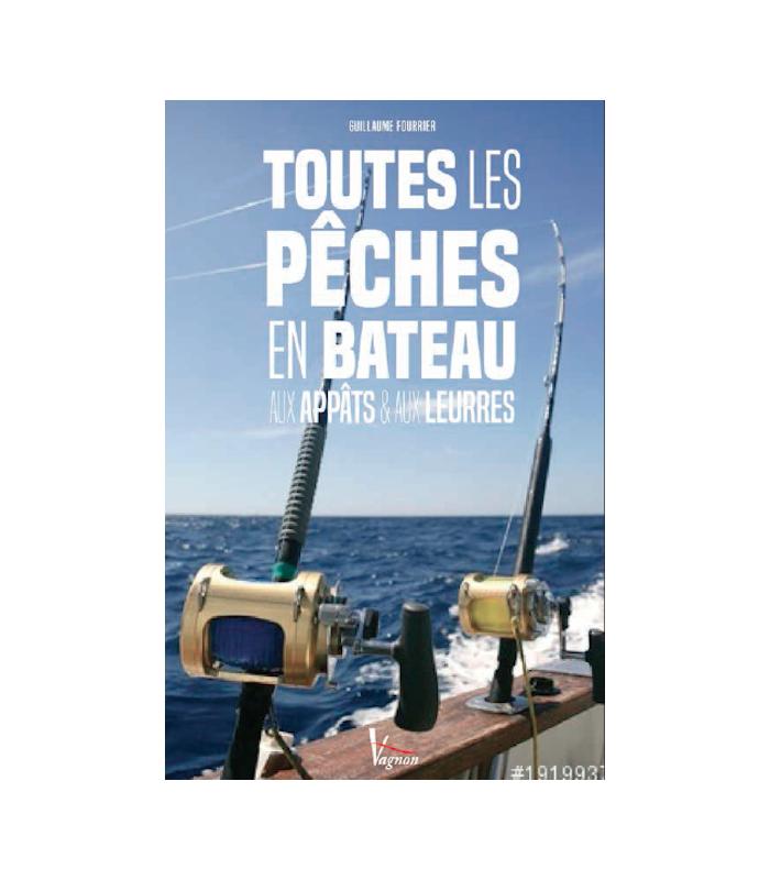 Toutes les pêches en bateau aux appâts et aux leurres