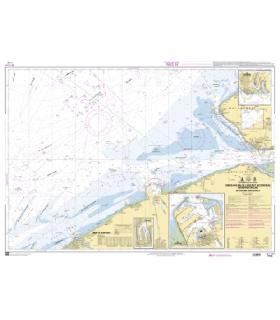 7174 - Embouchure de l'Escaut Occidental - De oostende à Westkapelle - carte marine Shom papier