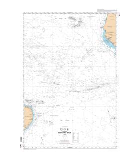 6807 - Côte Est d'Amérique du Sud - carte marine Shom papier