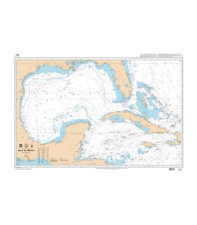 6761 - Golfe du Mexique - carte marine Shom papier