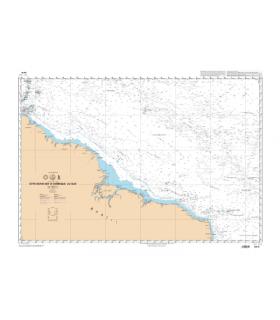 6814 - Côte Nord-Est d'Amérique du Sud - carte marine Shom papier