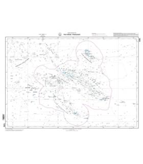 7246 - Polynésie française - carte marine Shom papier