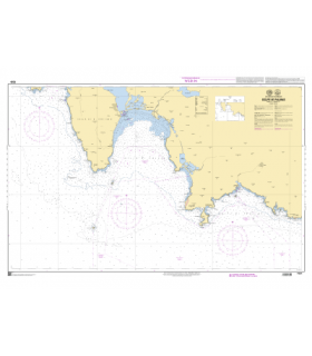 7335 - Golfe de Palmas - Carte marine Shom papier
