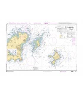 6904 - Guernsey Est, Herm et Sark - carte marine papier