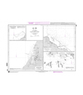 3698 - Iles Comores - Grande Comore et Mohéli - Carte marine Shom