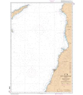 7255 -  De El Ladhiqiyeh à Soûr - Carte marine Shom papier