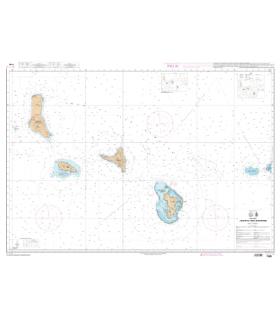 7490 - Archipel des Comores - Carte marine Shom papier