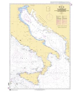 7331 - du Cap Bon au Golfe de Venise - Carte marine Shom