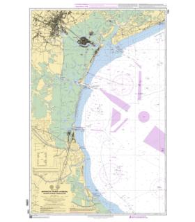7228 - Abords de Venise - Carte marine Shom