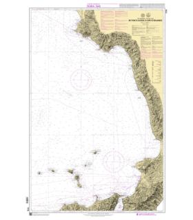 7776 - de Punta Licosa à Capo d'Orlando- Carte marine Shom