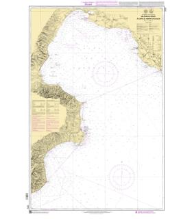 7777 - de Punta Stilo à Capo san Mariadi Leuca - Carte marine Shom