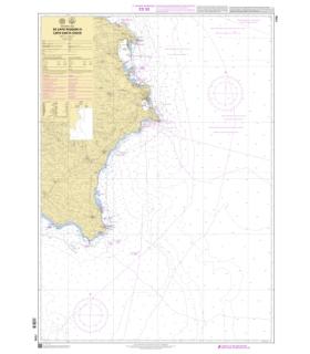 7779 - de Capo Passero à Capo Santa Croce - Carte marine Shom