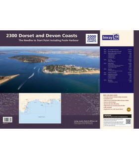 2200 Solent Chart Pack - Carte marine Imray
