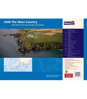 2300 Dorset and Devon Coasts Chart Pack - Carte marine Imray