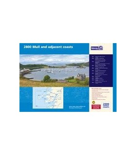 2800 Isle of Mull and Adjacent Coasts Chart Pack - Carte marine Imray
