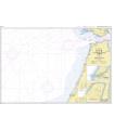 7550 - Du détroit de Gibraltar à Kénitra - Carte marine Shom