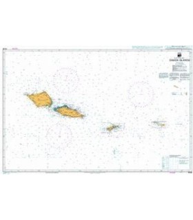 Admiralty - NZ86 Samoa Islands - carte marine papier