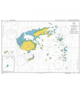 Admiralty 2691 - Fiji Islands - carte marine papier