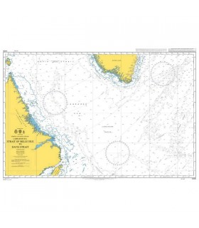 Admiralty 4405 - Strait of belle Isle to Davis Strait
