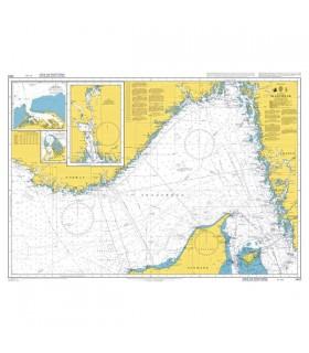 Admiralty 1402 - Skagerrak - Carte marine papier