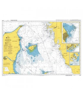 Admiralty 2107 - Kattegat Northern Part - Carte marine papier