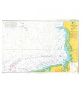 Admiralty 1423 - Terschelling to Esbjerg - Carte marine papier