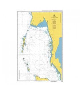 Admiralty 830 - Andaman Sea - carte marine
