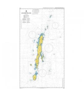 Admiralty 825 - Andaman Islands - carte marine