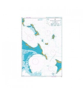 Admiralty 3913 - Crooked Island Passage and Exuma Sound - Carte marine papier
