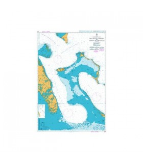 Admiralty 3912 - North East Providence Channel and Tongue of the ocean - Carte marine papier