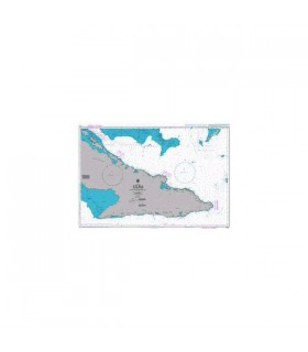Admiralty 3865 - Cuba Eastern sheet - Carte marine papier