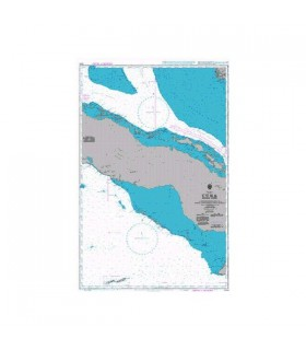 Admiralty 3866 - Cuba Middle sheet - Carte marine papier