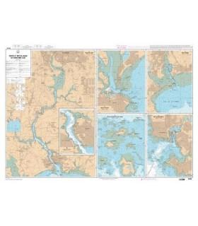 7423 L - Raz de Sein - Carte marine Shom papier