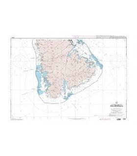 6283 - île Tahaa - carte marine papier