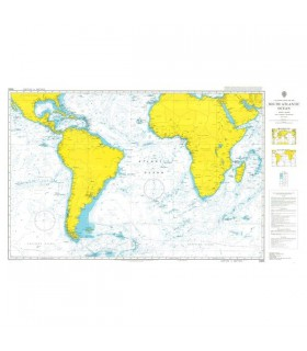 Admiralty 4001 - Atlantic and Indian Oceans - Carte marine papier