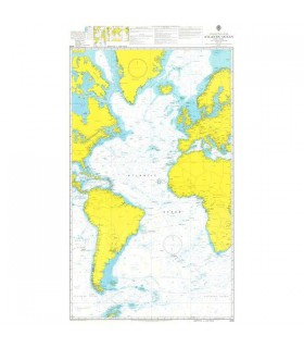 Admiralty 4003 - South Atlantic Ocean - Carte marine papier