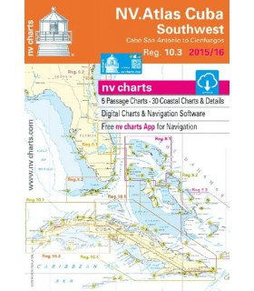 NV charts Cuba Southwest - carte marine