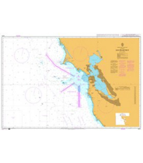 Admiralty 4914 - San Francisco - Carte marine papier
