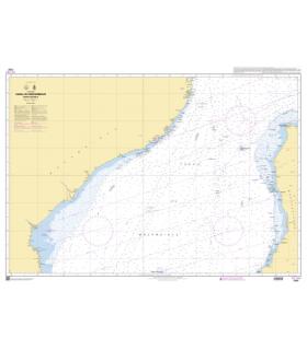 7797 - Canal du Mozambique - Partie Centrale - Carte marine Shom papier