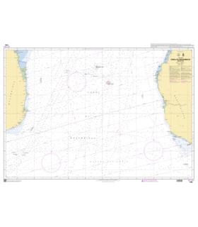 7798 - Canal du Mozambique - Partie Sud - Carte marine Shom papier