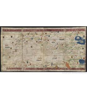 Atlas nautique du Monde dit atlas Miller, 1519