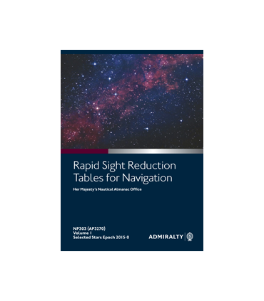 NP303(1) Rapid Sight Reduction Tables for Air Navigation Vol 1 Epoch 2015