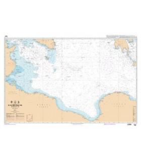 7299 - Du Cap Bon (Ras at Tib) à Ra's at Tin - Carte marine Shom papier