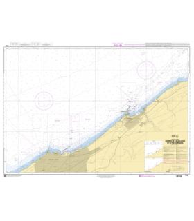 7706 - Abords de Casablanca et de Mohammadia - Carte marine Shom