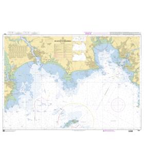 7252 L - Iles de Glénan - Carte marine Shom papier