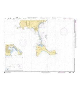 7783 - Ibiza - Partie Sud et Isla de Formentera - carte marine Shom papier