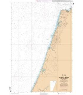 7704 - de la pointe de Malabata à Sisi AL Hachmi - Carte marine Shom papier