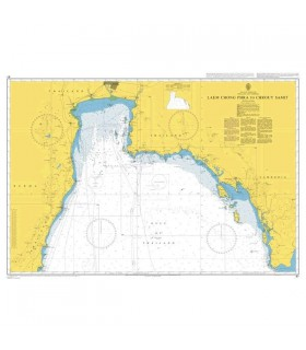 Admiralty 67 -  Laem Chong Phra to Chrouy Samit - Carte marine papier