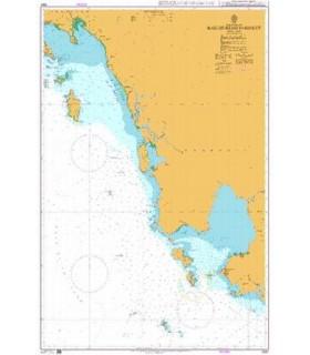 Admiralty 3967 - Baie de Ream to Ko Kut - Carte marine papier